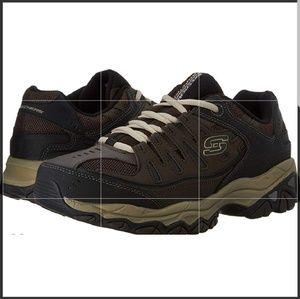 Men's Memory-Foam Lace Up Skechers Sneakers